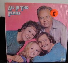 All In The Family TV Show Lp Near Mint #ComedyNoveltyMusic