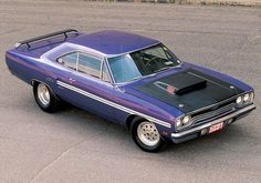 Check Out Barry Landers Plum schemed 1970 Plymouth GTX. coverage provided by Car Craft Magazine. Plymouth Muscle Cars, Dodge Muscle Cars, 1970 Plymouth Gtx, Cool Old Cars, Drag Cars, American Muscle Cars, Hot Cars, Mopar, Classic Cars