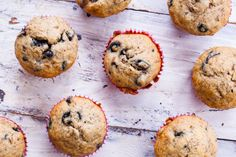 Easy Moist Banana Blueberry Muffins Recipe - Genius Kitchen subbed c total wheat bran & wheat germ for flour Banana Blueberry Muffins, Blueberry Recipes, Blue Berry Muffins, Banana Recipes, Blueberry Chocolate, Chocolate Cheesecake, Chocolate Chips, White Chocolate, Muffin Recipes