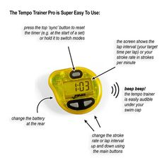 tempo trainer pro exploded diagram