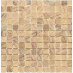 Elida Ceramica�Recycled Orchid Glass Mosaic Square Indoor/Outdoor Wall Tile (Common: 12-in x 12-in; Actual: 12.5-in x 12.5-in)