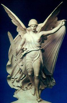 dit was de griekse god niké zij was godin van de overwinning