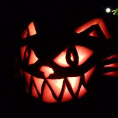 """13 Clever """"Cat-O-Lanterns"""" To Light Up Your Halloween - iHeartCats.com"""