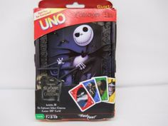 Nightmare-before-Christmas-UNO-Card-Game-Sealed-Collector-Tin