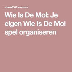 Wie Is De Mol: Je eigen Wie Is De Mol spel organiseren