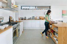 Great Excellent way to storage.  Kathryn Tyler's kitchen