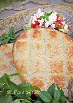 Turkish Pita Bread. Use this chart for measurement conversions: http://allrecipes.com/howto/conversions-us-standard-to-metric/