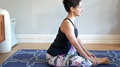 Let your stress and worries melt away with these beginner asanas.