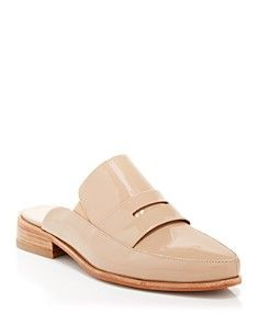 FRENCH CONNECTION Flat Slide Mule Loafers - Louis