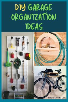 You can organize your garage in budget-friendly ways! Check out these DIY ideas!