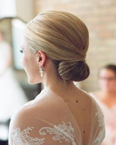 Low Bun Wedding Hairstyles 2015 | Full Dose