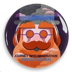Disney World Epcot  Dreamfinder Journey into Imagination Plate