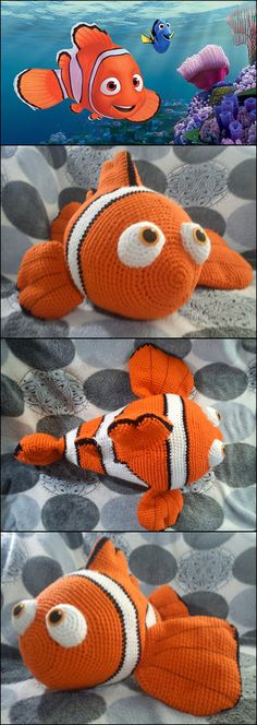 Finding Dory Crochet Patterns -