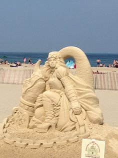 sand sculptures hampton beach 2013 | Hampton Beach Sand Sulpting Contest | Travel New England Photo Gallery