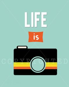 Life Is Print by WellSaidPrints on Etsy, $12.00 #photography #print