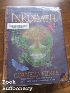 """""""Inkdeath"""" by Cornelia Funke...review at Book Buffoonery"""