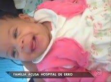 Bebê morre ao receber remédio de outro paciente em SP.