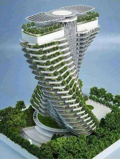 Green building by Saima Jaman on Creative Market