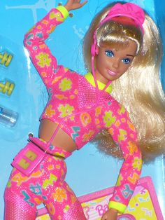 <b>Overalls? Quirky prints?</b> '90s Barbies wore them first.