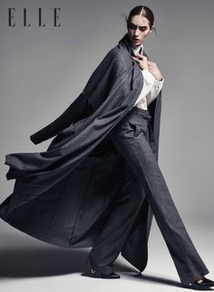 Marine Deleeuw models Fall style for Elle Vietnam September 2015 by Choi Yong Bin [fashion]