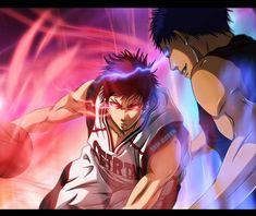 Anime Manga, Anime Guys, Anime Art, Kagami Vs Aomine, Kuroko No Basket Characters, Hot Fan, Steven Universe Movie, Cool Anime Pictures, Kuroko's Basketball