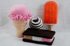 Felt Food. Perfect for toddler gift or for kids room decor. Love it!