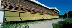 Behnisch Architekten Sun Protection, Shutters, School, Blinds, Shades, Window Shutters, Exterior Shutters, Shutterfly