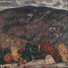 Marsden Hartley (American, 1877–1943). Landscape No. 25., 1908–09. The Metropolitan Museum of Art, New York. Alfred Stieglitz Collection, 1949 (49.70.48)