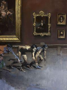 The visitors (SOLD), Julien Spianti