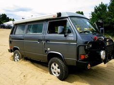 Volkswagen VW T3 t25 Vanagon 4x4  | ⇆ 234| uk| https://www.pinterest.com/genashev/vw-t3/