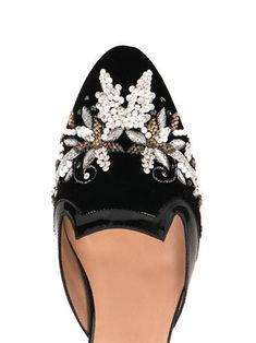 Oscar de la Renta.  Wear them with lace.