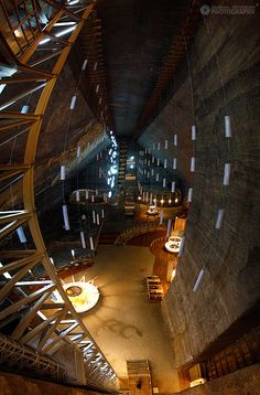 Salina Turda (Salt Mine). It's actually one of the coolest places I've ever been to. ♦ Romania #romania