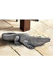Home affaire Dekofigur »Krokodil« - Wohnen Deco, Animals, Artificial Stone, Crocodile, Exotic, Animales, Homes, Dekoration, Animaux
