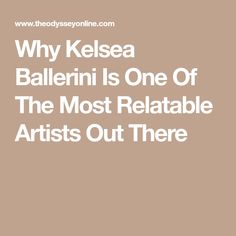 Why Kelsea Ballerini Is One Of The Most Relatable Artists Out There