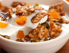 Matzo Granola with Apricots and Pistachios