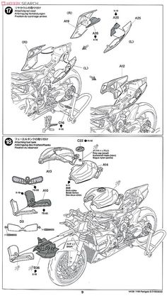 Ducati 1199 Panigale S (Model Car) Assembly guide8