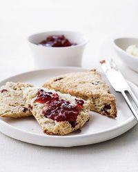 Orange-Cranberry Scones with Turbinado Sugar Recipe on Food & Wine