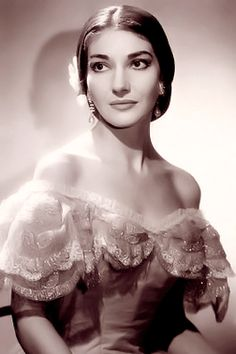 Maria Callas: Soprano. Superb!