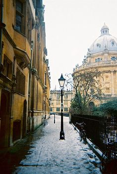 St. Mary's passage, Oxford - my 'short cut' to the town centre