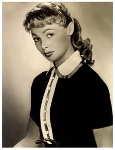 """Dany Robin  -   '40-50-60 (Apr. 14, 1927 - May 25,1995  -  French actress of the 1950s & early 1960s  -  married to fellow actor Georges Marchal  -  performed with Peter Sellers in """"The Waltz of the Toreadors"""" ...co-starred opposite Kirk Douglas in the 1953 romantic drama """"Act of Love""""  -  She died with her husband, Michael Sullivan, during a fire in their apartment in Paris."""