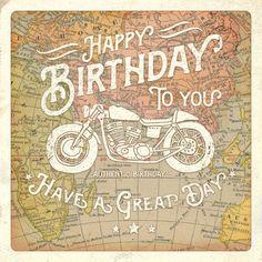 Birthday ~ Gareth Williams - Motorbike