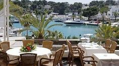Port Petit Restaurant, Cala d'Or garden