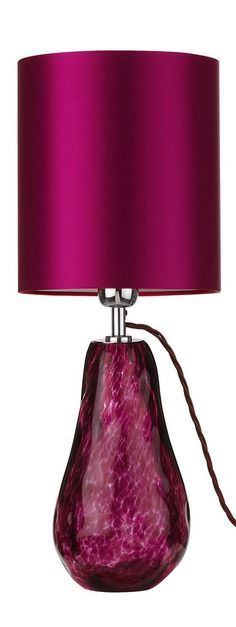 InStyle-Decor.com Designer Deep Fuchsia Pink Art Glass Table Lamp $895, Modern Glass Table Lamps, Contemporary Glass Table Lamps, Living Room Table Lamps, Dining Room Table Lamps, Bedroom Table Lamps, Bedside Table Lamps, Nightstand Table Lamps. Colorful Inspiring Designs, Check Out Our On Line Store for Over 3,500 Luxury Designer Furniture, Lighting, Decor & Gift Inspirations, Nationwide & International Shipping From Beverly Hills California Enjoy Whats Trending in Hollywood