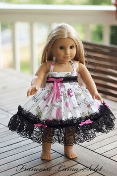 American Girl doll Clothes 18 doll or 23 by francoiselamasolet, $32.00