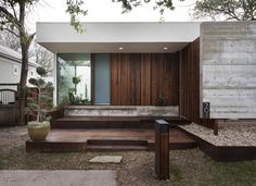 Elizabeth Street House by Alterstudio Architecture, LLp in Austin, TX.; Constructed for $173/sf