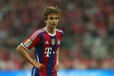 Gianluca Gaudino. After having just turned 17 years old he has become the youngest starter in Bundesliga history. Bayern vs Wolfsburg 22.08.14