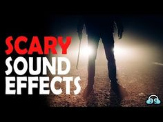 Scary Sound Effects, Halloween Sound Effects, Halloween Sounds, Halloween Music, Creepy Halloween, Horror Sounds, Scary Sounds, Very Scary, Noise Sound