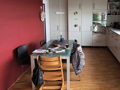 Küche vor Umgestaltung Modern, Conference Room, Furniture, Home Decor, Environment, Cozy Living, Cosy House, Detached House, Steel