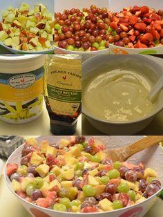 yummy healthy fruit salad by 3angels