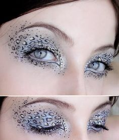 Tattoo and way of life: Leopard eyes..